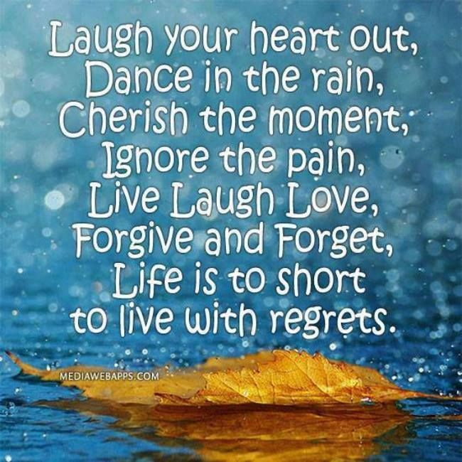 1000 Regret Love Quotes On Pinterest: Life Is Too Short For Regret Pictures, Photos, And Images