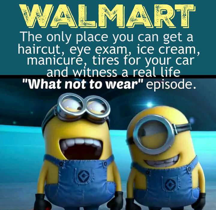 Funny Minion Quote About Walmart Pictures, Photos, and Images for ...