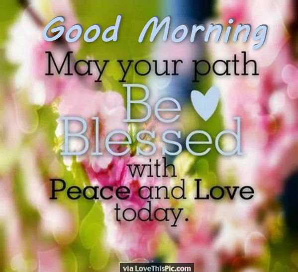 good morning may your day be blessed pictures photos and