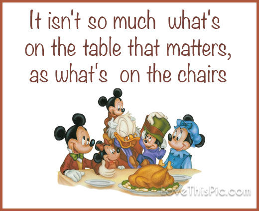 disney thanksgiving quote about family