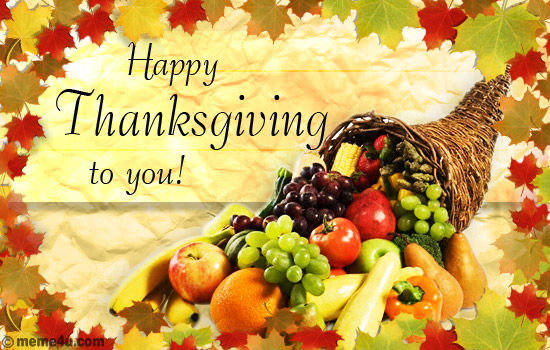 Image result for Happy Thanksgiving to you