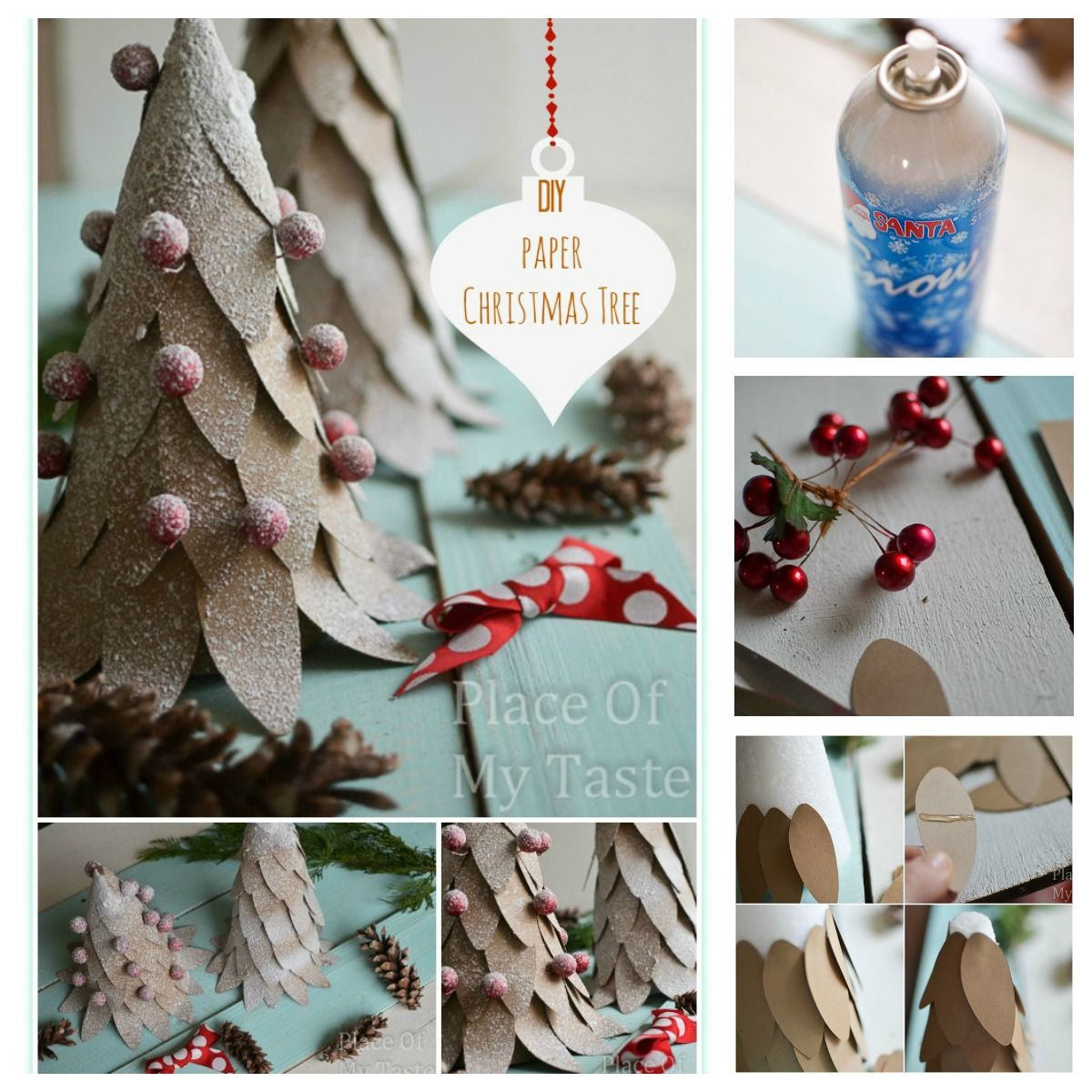 Diy Paper Christmas Tree Craft Pictures Photos And Images For