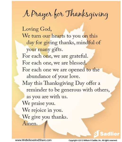 Thanksgiving Quotes Kids: A Prayer For Thanksgiving Pictures, Photos, And Images For