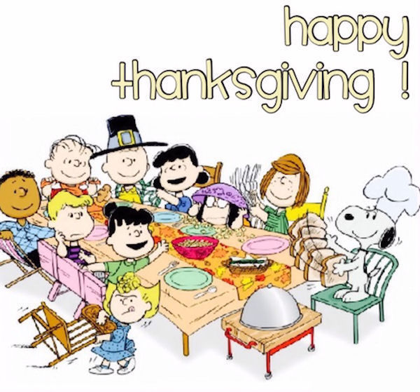 Image result for happy thanksgiving peanuts