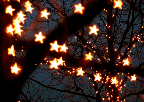 Resultado de imagen de christmas lights tumblr