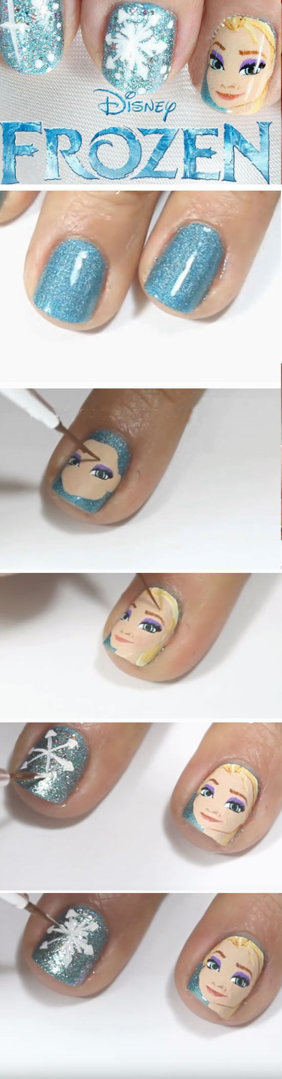 Frozen Nail Art Pictures, Photos, and Images for Facebook, Tumblr ...