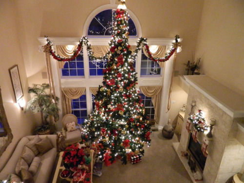 Overview Of Christmas Living Room Pictures Photos And