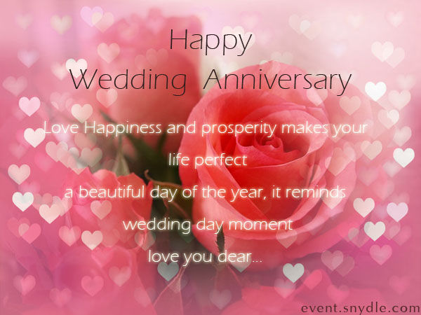 Happy wedding anniversary image quote pictures photos