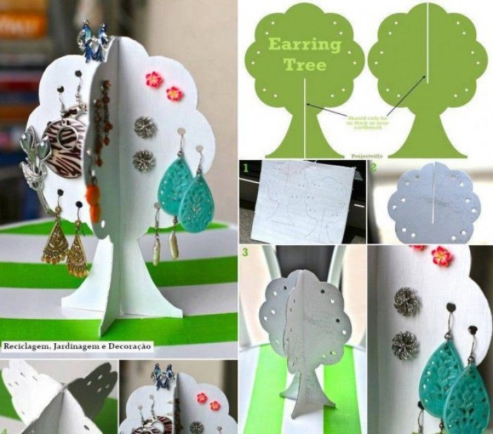 DIY Earring Tree Holder Pictures, Photos, and Images for Facebook ...