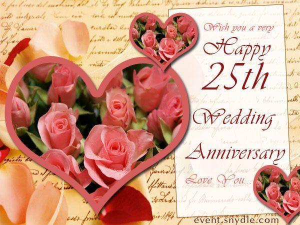 Hy 25th Wedding Anniversary