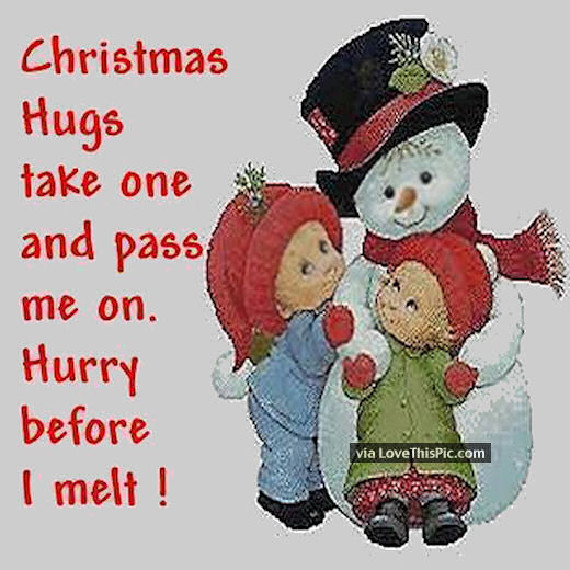 Christmas Hugs Take One And Pass One Pictures Photos And Images For Facebook Tumblr