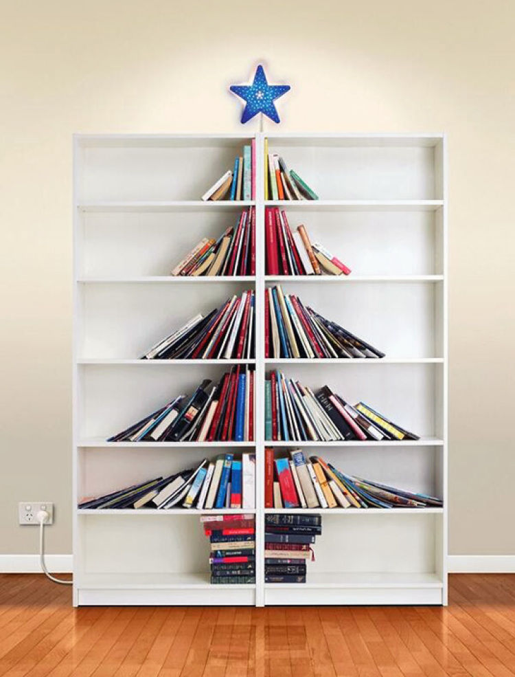 Bookshelf Idea bookshelf christmas tree idea pictures, photos, and images for