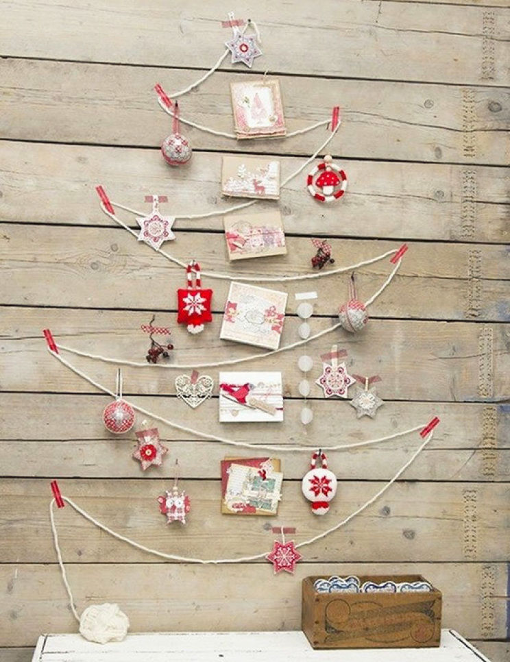 String Ornament With Cards Christmas Wall Tree Pictures, Photos ...
