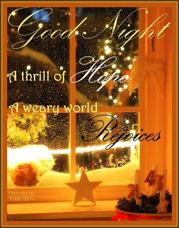 Christmas Goodnight Quote Pictures, Photos, and Images for ...