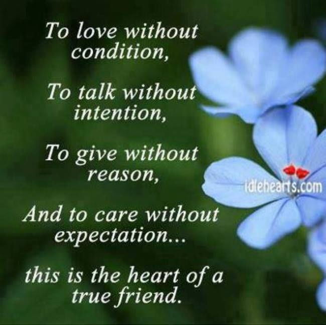 The Heart Of A True Friend Pictures, Photos, And Images