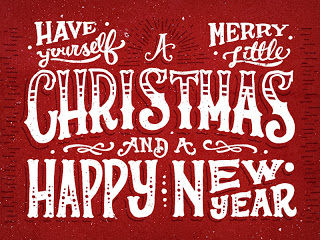 have yourself a merry little christmas and a happy new year