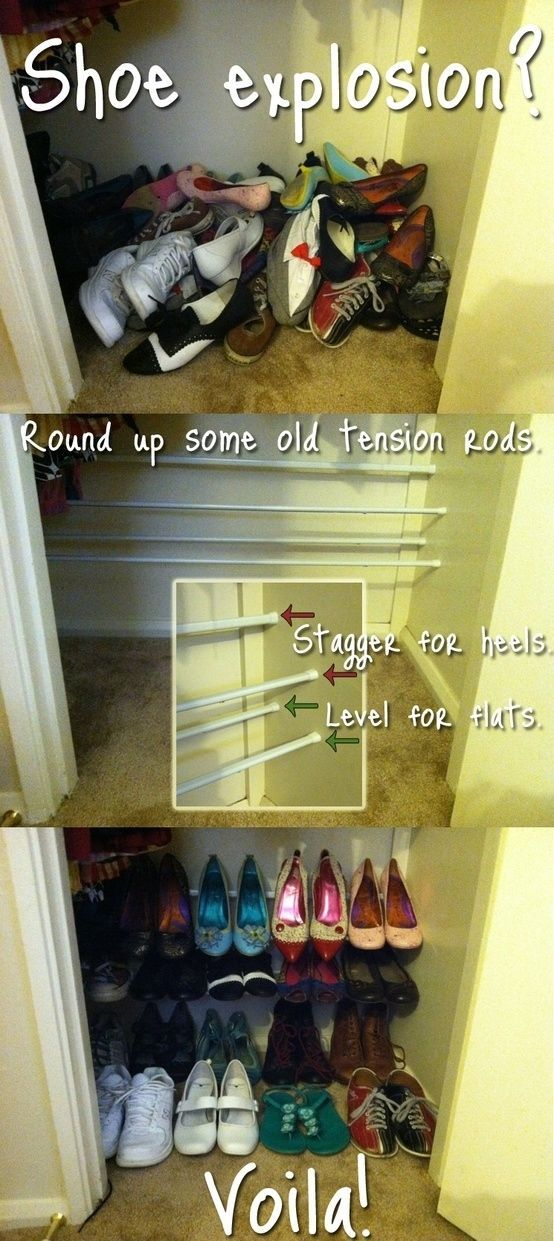 how to make your own shoe racks pictures photos and images for facebook tumblr pinterest. Black Bedroom Furniture Sets. Home Design Ideas