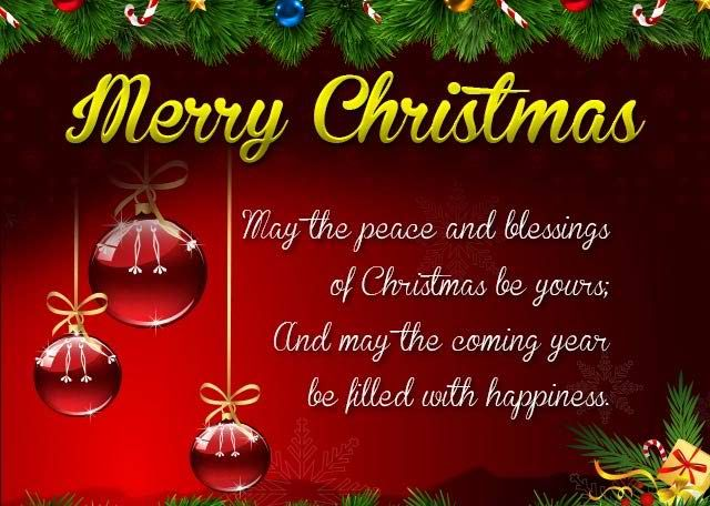 Christmas Blessing Quotes