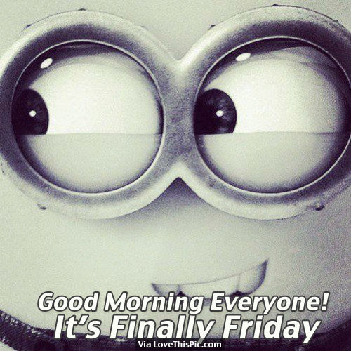 Good Morning Everyone Clipart : Good morning everyone it s finally friday pictures