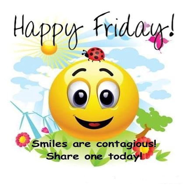 Happy Friday: Happy Friday Share A Smile Pictures, Photos, And Images