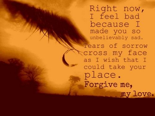 Please Forgive Me My Love Pictures, Photos, and Images for Facebook ...