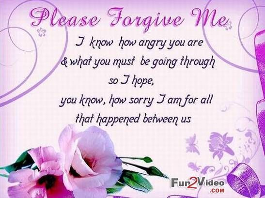 Please Forgive Me Pictures, Photos, And Images For