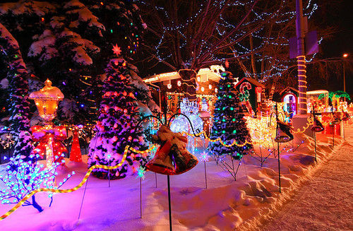 Pretty christmas lights pictures photos and images for - Pretty christmas pictures ...