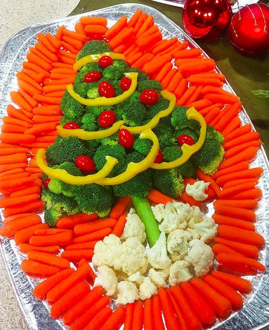 Christmas Tree Veggie Tray Pictures, Photos, And Images
