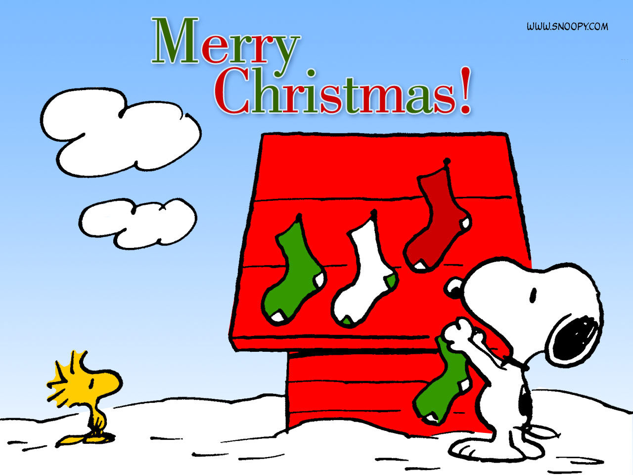 snoopy merry christmas image quote - Snoopy Merry Christmas Images