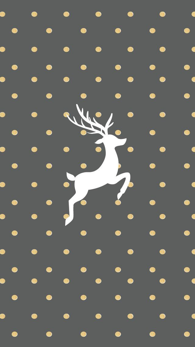Gold And Grey Reindeer Wallpaper For Iphone Pictures Photos And