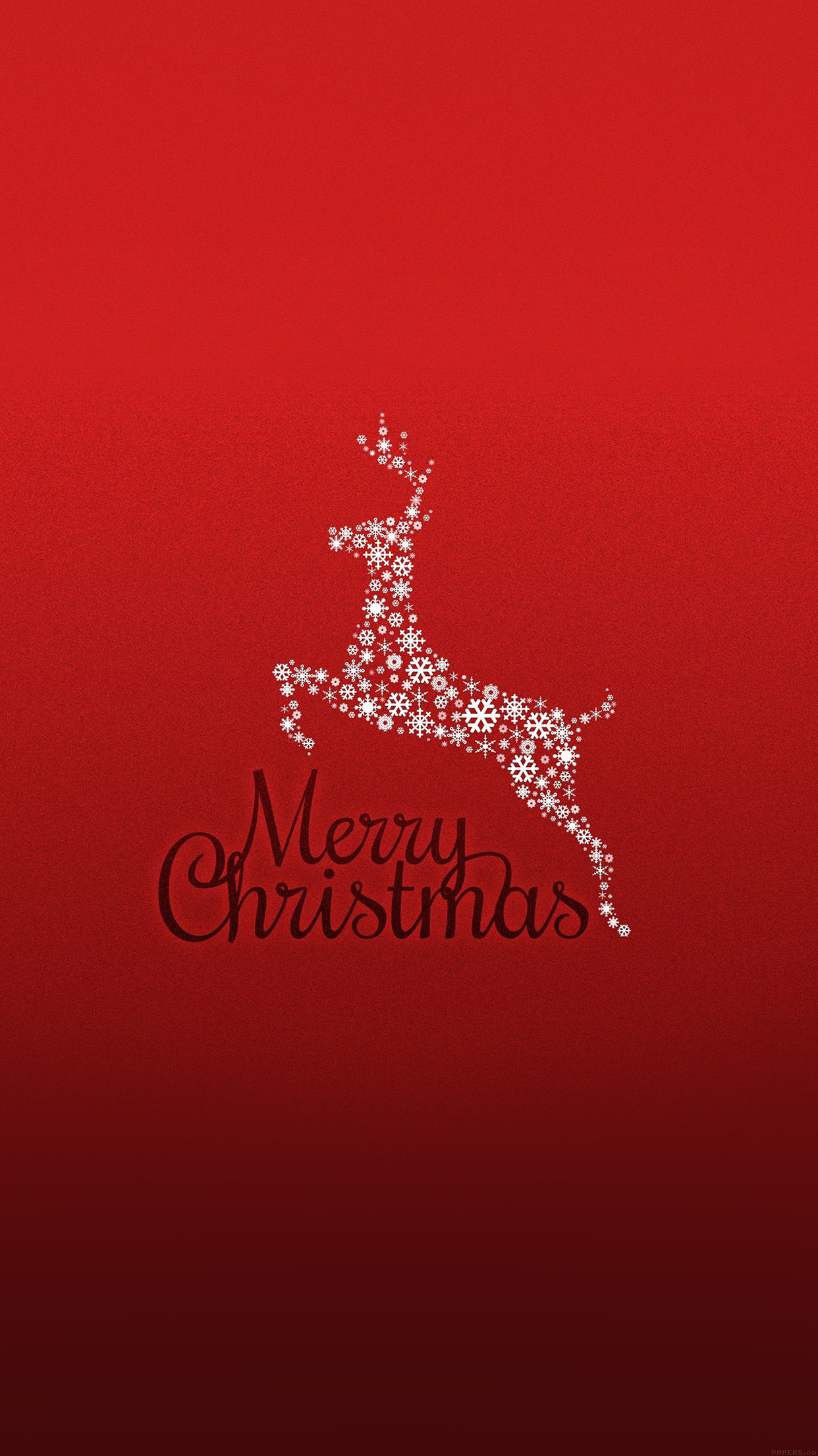 219559 Merry Christmas Reindeer Wallpaper