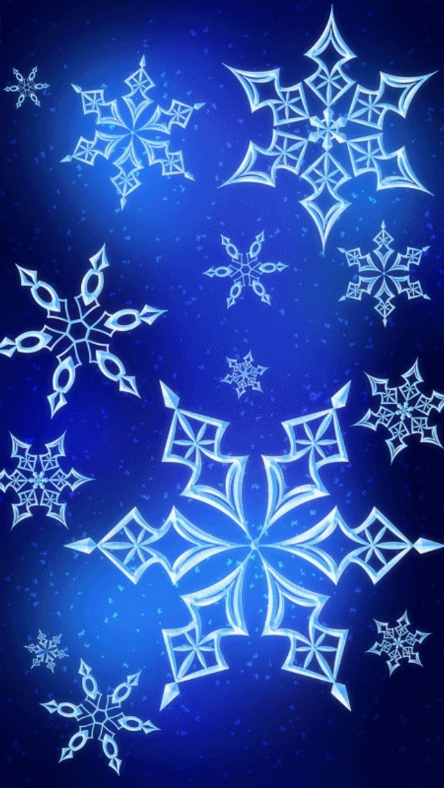 Blue Snowflake Wallpaper Pictures Photos And Images For Facebook