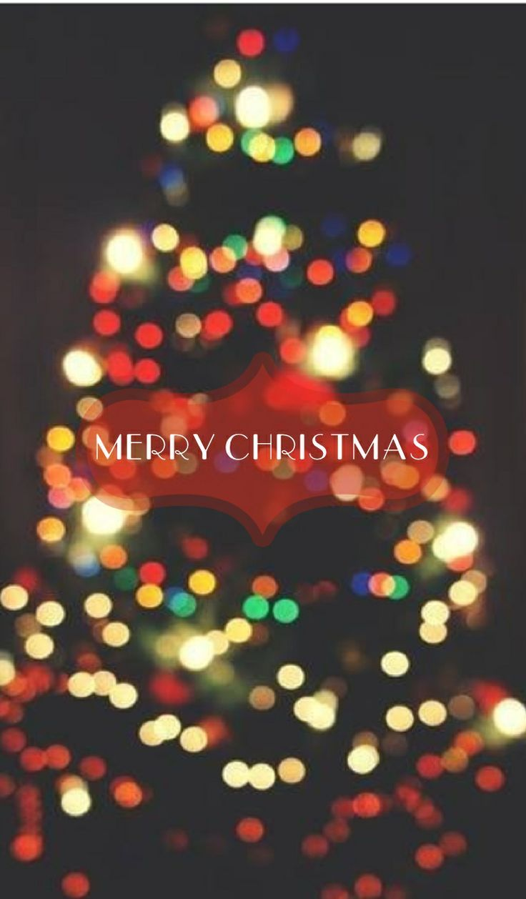 merry christmas christmas tree iphone wallpaper pictures
