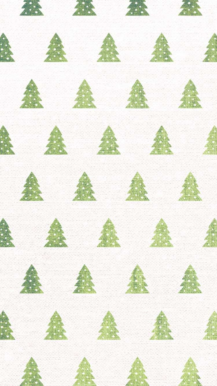 Christmas Tree Pattern IPhone Wallpaper Pictures Photos