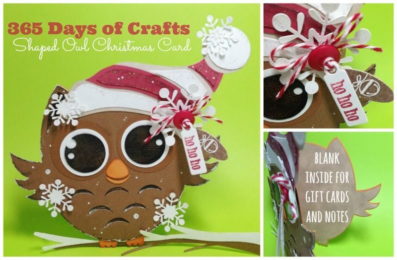 Shaped Owl Christmas Card Pictures Photos And Images For