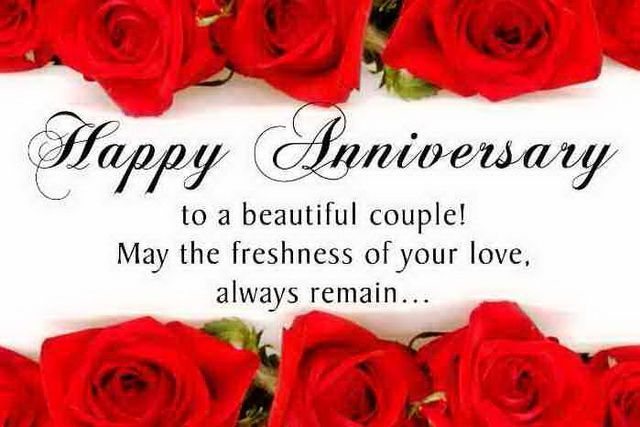 Happy Anniversary To A Beautiful Couple Pictures, Photos