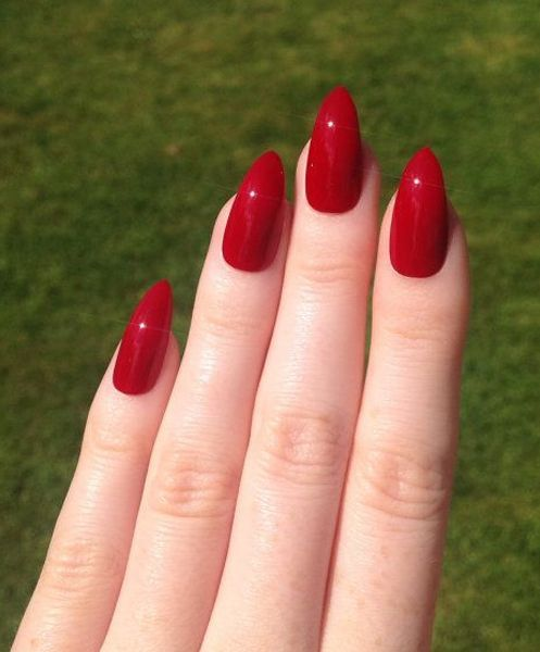 Stiletto Red Nails Pictures Photos And Images For