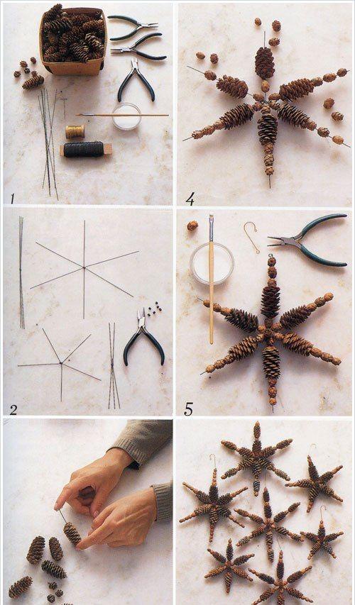 Новогодние украшения своими руками фото инструкция