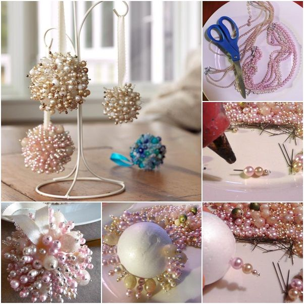 Turn Old Jewelry Into Christmas Ornaments Pictures, Photos