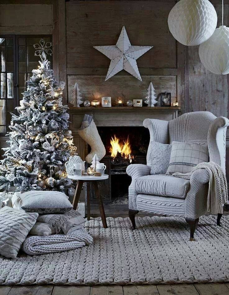 Cozy Silver Christmas Pictures Photos And Images For Facebook