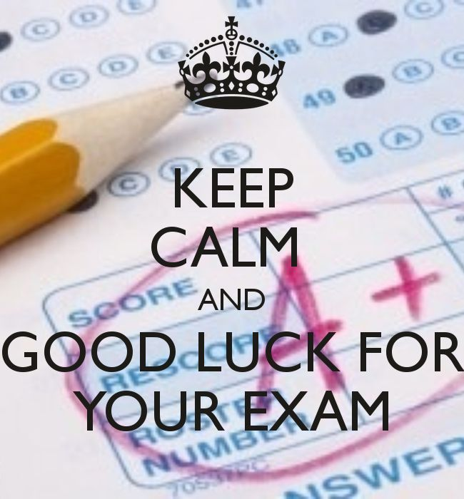 Keep Calm And Good Luck On Your Exam Pictures, Photos, And