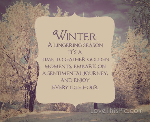 Quotes About Pinterest: Winter Pictures, Photos, And Images For Facebook, Tumblr