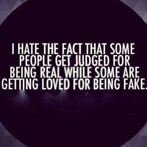 Real People Quotes Real People Get Judged Pictures, Photos, and Images for Facebook  Real People Quotes