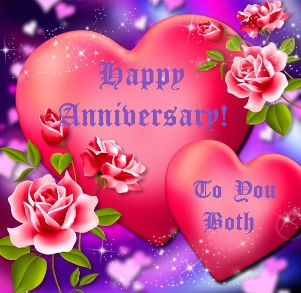 Happy Anniversary To A Beautiful Couple Quotes: Happy Anniversary To You Both Pictures, Photos, And Images