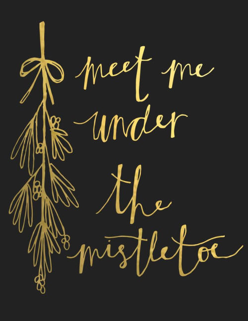 meet me under the mistletoe quotes sayings