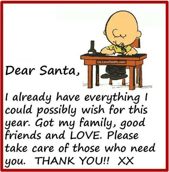 Cute Charlie Brown Christmas Quote For Friends And Family