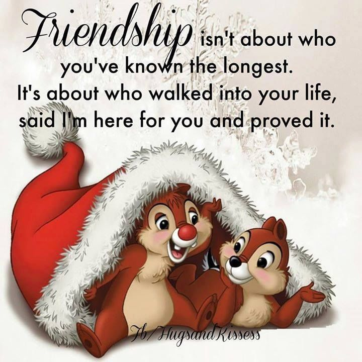 Christmas Quotes About Friendship Mesmerizing Friendship Isnt About Who You Have Known The Longest Pictures