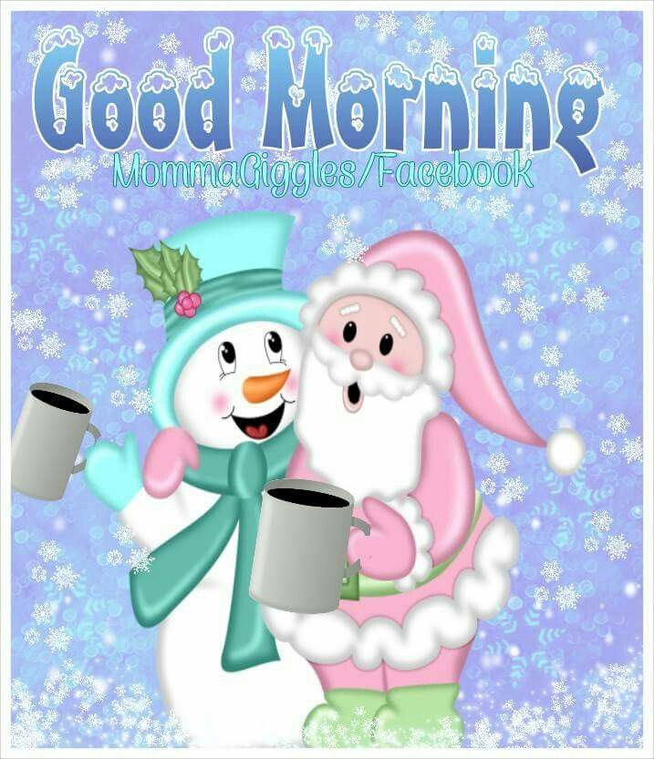 good morning quote with santa and snowman pictures  photos  and images for facebook  tumblr
