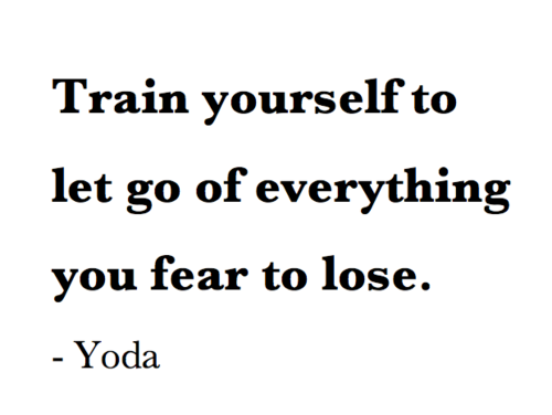 Star Wars Quotes | Train Yourself To Let Go Star Wars Quote Pictures Photos And
