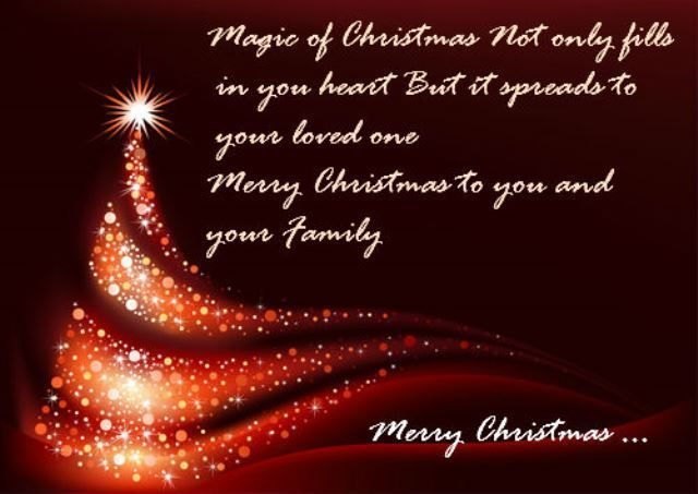 The 45 Best Inspirational Merry Christmas Quotes Of All: Magic Of Christmas... Pictures, Photos, And Images For